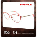 2017 Best desgin classic Lady metal optical eyeglasses & metal optical frame