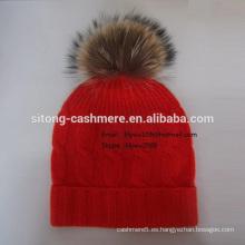 Gorro Fox Cashmere