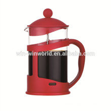 Plastic Vacuum French Press Pyrex Glass Tea Coffee Plunger