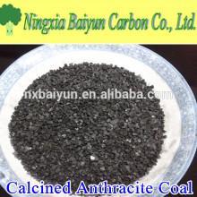 90% de carvão antracite eletricamente calcinado