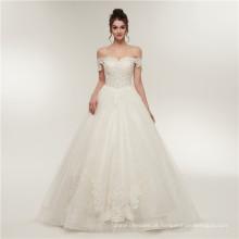 Luxo rendas até o chão vestido de casamento vestido de baile querida vestido de noiva vestidos de 2018