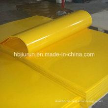 Shore a 90 PU gelbes Blatt aus China Manufacture