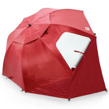 SPF 50+ Outdoor 8-Foot Canopy Sun and Rain customized logo Umbrella tent