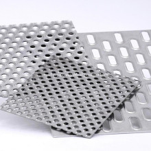 Electro Galvanized Perforated Metal Sheet