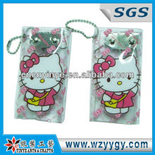promotional cartoon key bag with Hello Kitty School