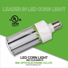 Frosted Cover IP64 LED Corn Lamp 40W with E26 / E39 Lamp Base