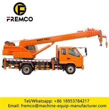 6 Boom Truck Crane com T-King Chassis