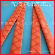 Tubo de aquecimento e grip antiderrapante texturizado