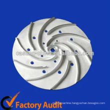 Investment Casting marine impeller,impeller sand casting process,stainless steel pump impeller casting