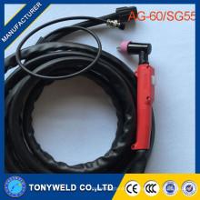 AG60 SG55 Plasmabrenner Luft Plasmaschneid Torch AG60 SG55 Der Fabrikverkauf