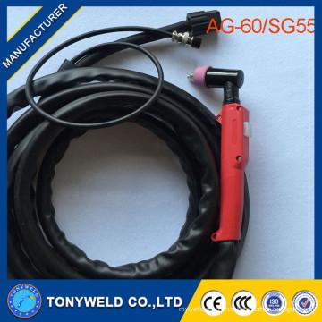 AG60 SG55 torche à plasma coupe plasma plasma Torch AG60 SG55 Vente directe en usine