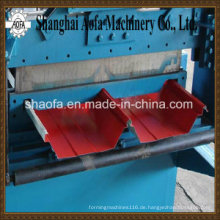 Farbstahlselbstverriegelungs-Dachblech-Rolle, die Maschine (AF-R360) bildet