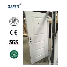 Puerta de acero blanco / puerta de acero revestido de polvo (RA-S006)