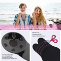MUQU Bruststraffungs-BH Invisible Silicone Pasties Black