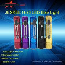Led мини-фонарик кри во главе фонарик 200lm портативный факел