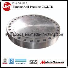 Bride forgée en acier au carbone ANSI DIN ASTM