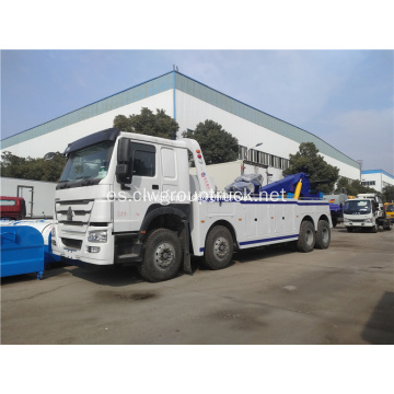 8x4 Heavy Road Wrecker Towing Truck en venta