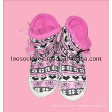 2015 nuevos calcetines del zapato de la manera de las mujeres del estilo (DL-HS-07)