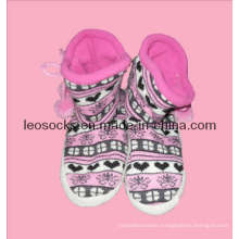 2015 New Style Women Fashion Shoe Socks (DL-HS-07)