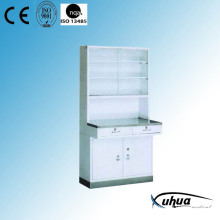 Steel Painted Hospital Medical Medicine Cabinet (U-6)