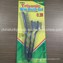 3PCS Wire Brush Set for Handy Tools (YY-507)