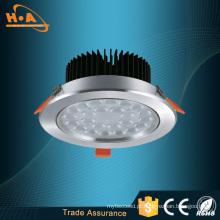 Venda quente 2835 luz de teto do diodo emissor de luz da lâmpada do remendo do poder superior