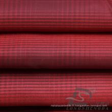 Veste à manches résistantes à l'eau et au vent en flan Tissé jacquard 100% polyester en fil de filation en fil de coton (X030)