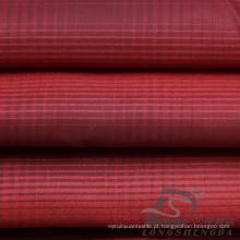 Water & Wind-Resistant Moda Jacket Down Jaqueta Tecido Plaid Jacquard 100% poliéster Cationic Fios Filamento Tecido (X030)