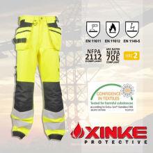 Sicherheitsausrüstung reflektierende FR-Hosen mit niedrigem Formaldehydgehalt