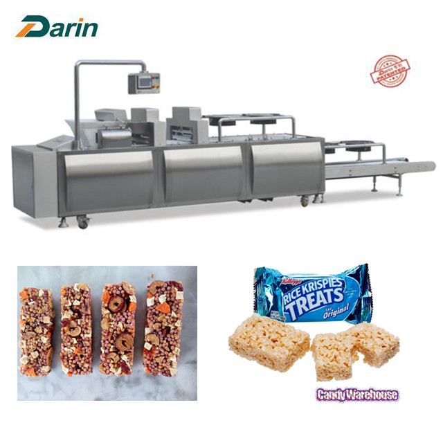 Crispy Snack Candy Bar Molding Machinery