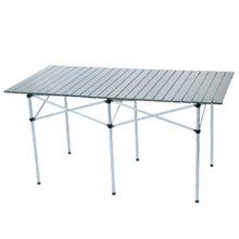 Folding Aluminium Rolling Table for Outdoor (CL2A-AT04B)