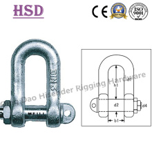 E. Galvanized DIN82101 a Type Shackle of Rigging Hardware