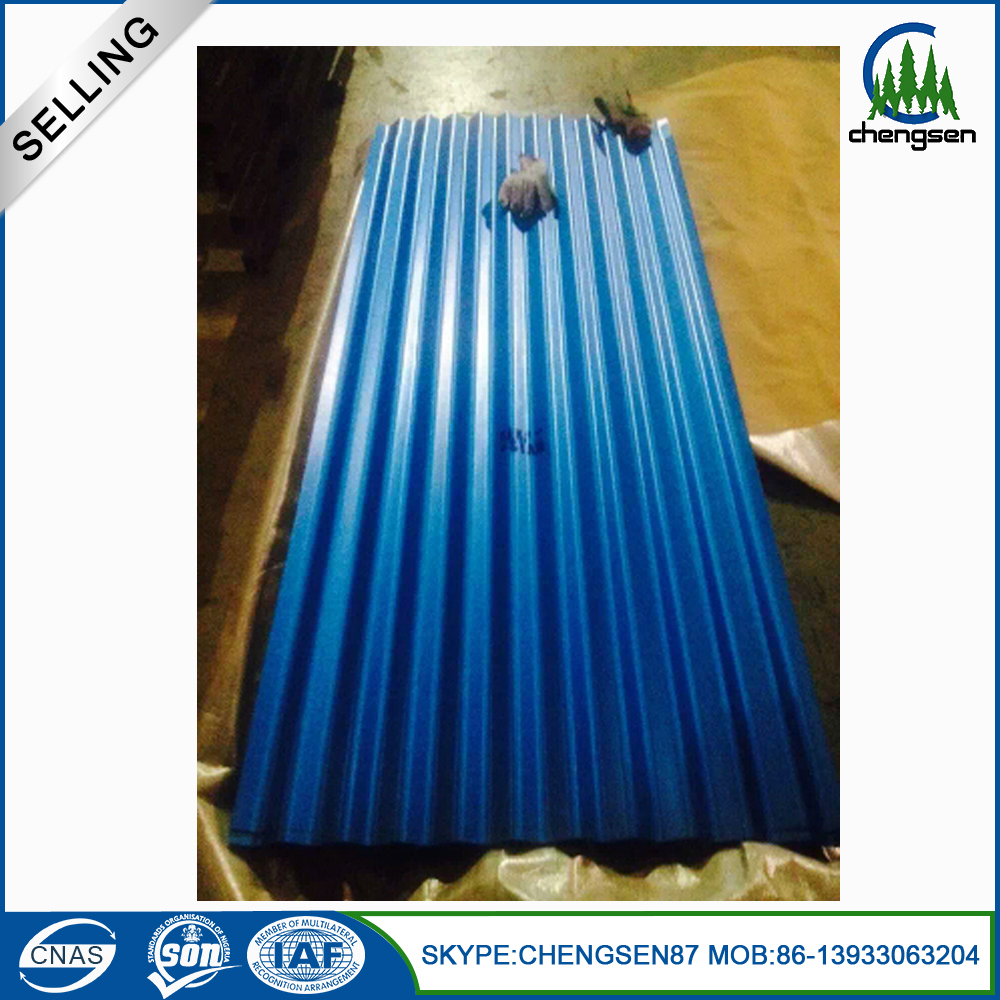Color Galvanized Corrugated Steel roofing Sheet