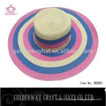 Protection solaire pour femmes chapeau de mode pour dames