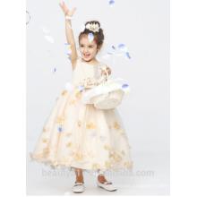 flower girl dress for fat girl scoop neckline sleeveless baby dresses ED764