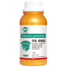 Formulation insecticide agrochimique Sc Avermectin 2% + Spirodiclofen 20%