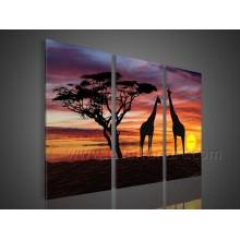 Украшение стены Африканское искусство на холсте живопись (AR-151)
