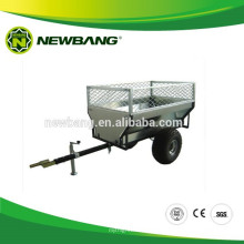 Leaf trailer with cage