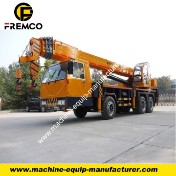16-20t Homemade Truck Crane with 5 Boom