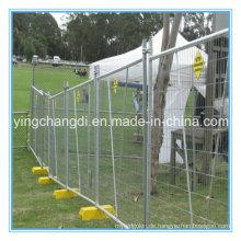 2015 Günstige abnehmbare Konstruktion verzinkt Temporäre Zaun