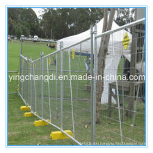 2015 Cheap Removeable Construction Galvanized Temporary Fence