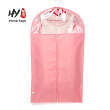 Saco de roupa de tecido não tecido respirável dobrável personalizado
