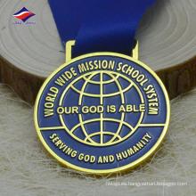 Medalla de medalla de metal de aleación de cinc