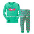 Оптовая Высокое Качество С Длинным Рукавом Дети Девушки Пижамы С Низкой Ценой