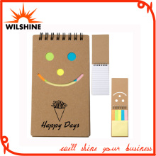 Eco Friendly Smile Face Recycled Notepad (NP129)