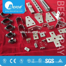2 or 3 Hole Flat Splice Channel Plate Fittings
