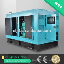 Hot sale with Cummins engine 400kw silent generator,500kva soundproof generator sets price