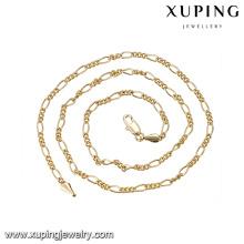 43508-Bijoux de mode pour adolescents Collier de perles à la main en or 14 carats