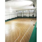 Lapangan basket lantai olahraga serbaguna