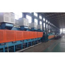 mesh belt hardening furnace